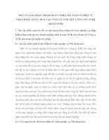 MỘT SỐ GIẢI PHÁP NHẰM HOÀN THIỆN KẾ TOÁN NGHIỆP VỤ NHẬP KHẨU HÀNG HOÁ TẠI CÔNG TY XNK THỦ CÔNG MỸ NGHỆ ARTEXPORT