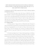 HOÀN THIỆN KẾ TOÁN CHI PHÍ SẢN XUẤT VÀ TÍNH GIÁ THÀNH SẢN PHẨM TẠI CÔNG TY TNHH NHÀ NƯỚC MỘT THÀNH VIÊN  ĐẦU TƯ VÀ PHÁT TRIỂN NÔNG NGHIỆP HÀ NỘI
