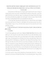 PHƯƠNG HƯỚNG HOÀN THIỆN KẾ TOÁN CHI PHÍ SẢN XUẤT VÀ TÍNH GIÁ THÀNH SẢN PHẨM XÂY LẮP TẠI  CÔNG TY CỔ PHẦN TUẤN LÂM