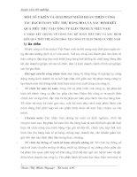 MỘT SỐ Ý KIẾN VÀ GIẢI PHÁP NHẰM HOÀN THIỆN CÔNG TÁC HẠCH TOÁN TIÊU THỤ HÀNG HOÁ VÀ XÁC ĐỊNH KẾT QUẢ TIÊU THỤ TẠI CÔNG TY ELECTROLUX VIỆT NAM