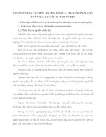 CƠ SỞ LÝ LUẬN VỀ CÔNG TÁC ĐÀO TẠO VÀ PHÁT TRIỂN NGUỒN NHÂN LỰC TẠI CÁC DOANH NGHIỆP