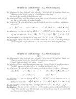 Đề kiểm tra 1 tiết chương I : ĐẠI SỐ 10(nâng cao)