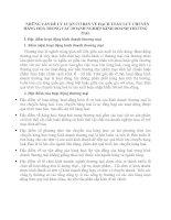 NHỮNG VẤN ĐỀ LÝ LUẬN CƠ BẢN VỀ HẠCH TOÁN LƯU CHUYỂN HÀNG HOÁ TRONG CÁC DOANH NGHIỆP KINH DOANH THƯƠNG MẠI