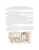 Lesson 15-The power systems of Diesel Engine