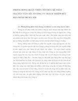 PHƯƠNG HƯỚNG HOÀN THIỆN TỔ CHỨC KẾ TOÁN NGUYÊN VẬT LIỆU Ở CÔNG TY TRÁCH NHIỆM HỮU HẠN MINH TRÍ HÀ NỘI