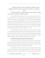 ĐÁNH GIÁ THỰC TRẠNG VÀ PHƯƠNG HƯỚNG HOÀN THIỆN KẾ TOÁN NGUYÊN VẬT LIỆU TẠI CÔNG TY TNHH AN PHÚ