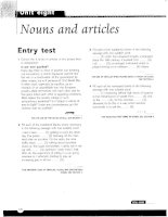 Grammar and Vocabulary for Cambridge Advanced and Proficiency - Nouns and articles
