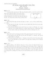 Đề thi HSG vật lý 9 (16)