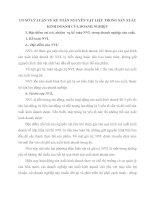 CƠ SỞ LÝ LUẬN VỀ KẾ TOÁN NGUYÊN VẬT LIỆU TRONG SẢN XUẤT KINH DOANH CỦA DOANH NGHIỆP