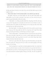 NHỮNG LÝ LUẬN CƠ BẢN VỀ HẠCH TOÁN TIÊU THỤ VÀ XÁC ĐỊNH KẾT QUẢ TIÊU THỤ THÀNH PHẨM TRONG CÁC DOANH NGHIỆP SẢN XUẤT