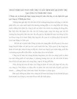 HOÀN THIỆN KẾ TOÁN TIÊU THỤ VÀ XÁC ĐỊNH KẾT QUẢTIÊU THỤ TẠI CÔNG TY TNHH PHÚ THÁI