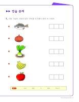 Tập viết tiếng Hàn - cho người mới bắt đầu học tiếng Hàn (Phần 11)