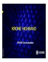 Highband Presentation August 8,2002