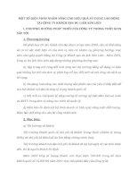 MỘT SỐ BIỆN PHÁP NHẰM NÂNG CAO HIỆU QUẢ SỬ DỤNG LAO ĐỘNG TẠI CÔNG TY KHÁCH SẠN DU LỊCH KIM LIÊN