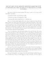 MỘT SỐ Ý KIẾN VỀ XÁC ĐỊNH GIÁ TRỊ DOANH NGHIỆP NHÀ NƯỚC CỔ PHẦN HÓA QUA THỰC TẾ CÔNG TY CỔ PHẦN DỤNG CỤ CƠ KHÍ XUẤT KHẨU