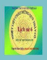 Tiết 9 : Bài 9: Đời sống của người nguyên thủy trênđất nước ta