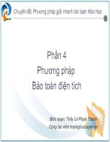 Phuong phap bao toan dien tich - LPT