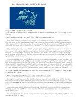 Gợi ý bài dự thi viết thư UPU lần thứ 40