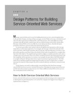 Design Patterns for Building Service-Oriented Web Services