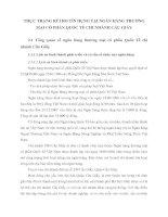 THỰC TRẠNG RỦI RO TÍN DỤNG TẠI NGÂN HÀNG THƯƠNG MẠI CỔ PHẦN QUỐC TẾ CHI NHÁNH CẦU GIẤY