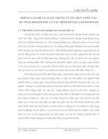 NHỮNG VẤN ĐỀ LÝ LUẬN CHUNG VỀ TỔ CHỨC CÔNG TÁC KẾ TOÁN DOANH THU VÀ XÁC ĐỊNH KẾT QUẢ KINH DOANH