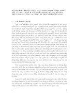 MỘT SỐ KIẾN NGHỊ VÀ GIẢI PHÁP NHẰM HOÀN THIỆN  CÔNG TÁC TỔ CHỨC HOẠCH TOÁN TIỀN LƯƠNG VÀ CÁC KHOẢN TRÍCH THEO LƯƠNG TẠI CÔNG TY THỰC PHẨM MIỀN BẮC