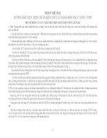 Hướng dẫn thực hiện chuẩn kiến thức, kỹ năng môn Vật lý 11