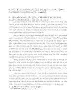 KHẢO SÁT VÀ ĐÁNH GIÁ CÔNG TÁC QUẢN TRỊ MUA HÀNG TẠI CÔNG TY BÁCH HOÁ SỐ 5 NAM BỘ