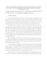 MỘT SỐ Ý KIẾN ĐỀ XUẤT NHẰM HOÀN THIỆN KẾ TOÁN  LƯU CHUYỂN HÀNG HOÁ VÀ XÁC ĐỊNH KẾT QUẢ TIÊU THỤ Ở CHI NHÁNH CÔNG TY ĐIỆN MÁY TP   HCM