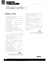 Grammar and Vocabulary for Cambridge Advanced and Proficiency - Modal verbs 1