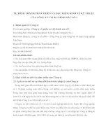SỰ HÌNH THÀNH PHÁT TRIỂN VÀ ĐẶC ĐIỂM KINH TẾ KỸ THUẬT CỦA CÔNG TY CPCK CHÍNH XÁC SỐ 1