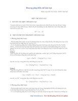 Phương pháp điều chế kim loại (Hồ Chí Tuấn - ĐH Y HN)