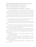 MỘT SỐ GIẢI PHÁP NHẰM HOÀN THIỆN CÔNG TÁC ĐÀO TẠO - PHÁT TRIỂN NGUỒN NHÂN LỰC TẠI CÔNG TY 20
