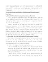 THỰC TRẠNG KẾ TOÁN KẾT QUẢ KINH DOANH VÀ PHÂN PHỐI LỢI NHUẬN TẠI CÔNG TY GIAO NHẬN KHO VẬN NGOẠI THƯƠNG (VIETRANS)