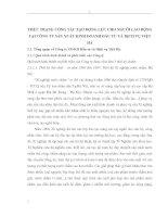 THỰC TRẠNG CÔNG TÁC TẠO ĐỘNG LỰC CHO NGƯỜI LAO ĐỘNG TẠI CÔNG TY SẢN XUẤT KINH DOANH ĐẦU TƯ VÀ DỊCH VỤ VIỆT HÀ