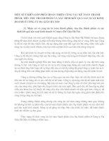 MỘT SỐ Ý KIẾN GÓP PHẦN HOÀN THIỆN CÔNG TÁC KẾ TOÁN THÀNH PHẨM, TIÊU THỤ THÀNH PHẨM VÀ XÁC ĐỊNH KẾT QUẢ SẢN XUẤT KINH DOANH Ở CÔNG TY DA GIẦY HÀ NỘI