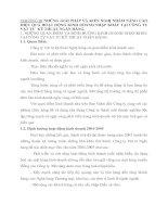 CHƯƠNG III NHỮNG GIẢI PHÁP VÀ KIẾN NGHỊ NHẰM NÂNG CAO HIỆU QUẢ HOẠT ĐỘNG KINH DOANH NHẬP KHẨU TẠI CÔNG TY VẬT TƯ  KỸ THUẬT NGÂN HÀNG