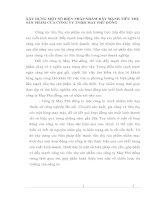 XÂY DỰNG MỘT SỐ BIỆN PHÁP NHẰM ĐẨY MẠNH TIÊU THỤ SẢN PHẨM CỦA CÔNG TY TNHH MAY PHÙ ĐỔNG