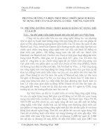 PHƯƠNG HƯỚNG VÀ BIỆN PHÁP PHÁT TRIỂN KHÁCH HÀNG SỬ DỤNG THẺ CỦA NGÂN HÀNG Á CHÂU  NHỮNG NĂM TỚI