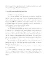CÔNG TÁC KẾ TOÁN CHI PHÍ SẢN XUẤT VÀ TÍNH GIÁ THÀNH SẢN XUẤT CỦA SẢN PHẨM TẠI CÔNG TY CƠ KHÍ HÀ NỘI