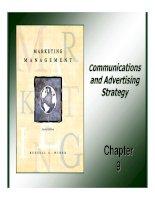 Giáo trình: Marketing Management_ Chapter 9