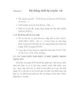 tổng quan về các giao thức báo hiệu và điều khiển, chương 4