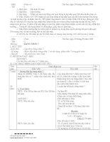 Kế hoạch bài học Lớp 3 Tất cả các môn (Tuần 7) và An toàn Giao thông (Bài 4)