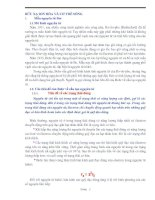 BỨC XẠ ION HÓA VÀ CƠ THỂ SỐNG