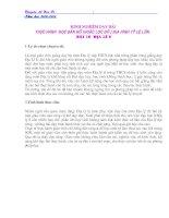 SKKN - ĐỌC BẢN ĐỒ ĐỊA LÍ 6 - T.H