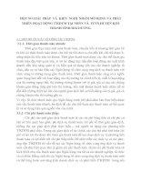 MỘT SỐ GIẢI  PHÁP  VÀ  KIẾN  NGHỊ  NHẰM MỞ RỘNG VÀ PHÁT TRIỂN HOẠT ĐỘNG T2KDTM TẠI NHNN VÀ  PTNN HUYỆN KIM THÀNH TỈNH HẢI DƯƠNG