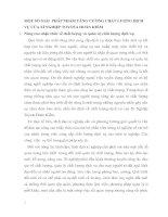 MỘT SỐ GIẢI  PHÁP NHẰM TĂNG CƯỜNG CHẤT LƯỢNG DỊCH VỤ CỦA XÍ NGHIỆP TOYOTA HOÀN KIẾM
