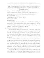 PHÂN TÍCH THỰC TRẠNG CÁC CÔNG CỤ ĐÃI NGỘ CHO NGƯỜI LAO ĐỘNG TẠI CÁC BỘ PHẬN CHỨC NĂNG CỦA CÔNG TY CỔ PHẦN CƠ KHÍ XÂY DỰNG SỐ 5