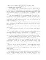 CƠ SỞ LÝ LUẬN CHUNG VỀ CHIẾN LƯỢC KINH DOANH