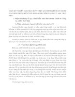 NHẬN XÉT VÀ KIẾN NGHỊ NHẰM HOÀN THIỆN QUY TRÌNH KIỂM TOÁN CHI PHÍ HOẠT ĐỘNG TRONG KIỂM TOÁN BÁO CÁO TÀI CHÍNH DO CÔNG TY AASC THỰC HIỆN